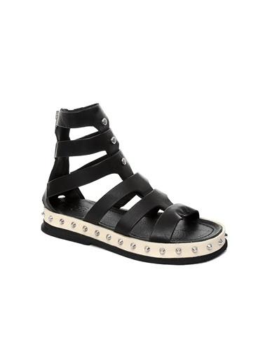 As 98 Sandalet Siyah
